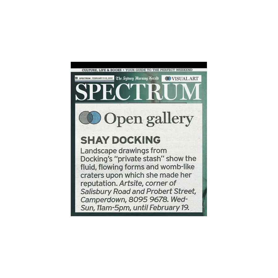 Shay Docking (1928-1998) - The Drawings, Artsite Gallery, 04 - 19 February 2012