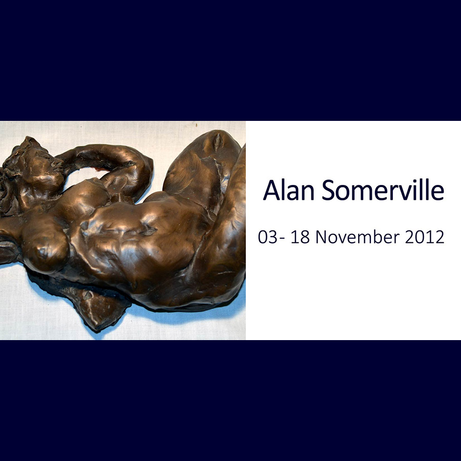 Alan Somerville - The Unbearable Lightness of Touch. Artsite Gallery 03 - 18 November 2012