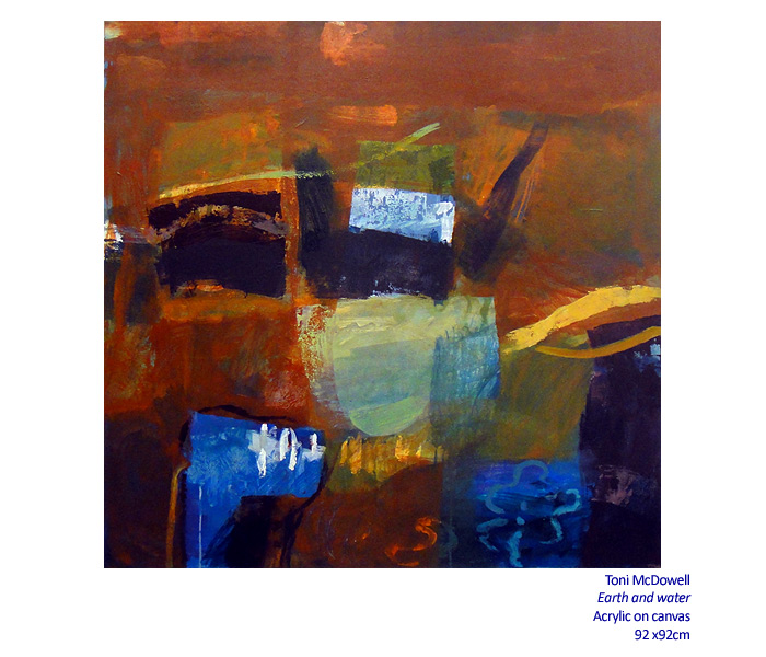 Winter Solace 13 July - 24 August 2014. Gallery and Associated artists including: Toni McDowell and more