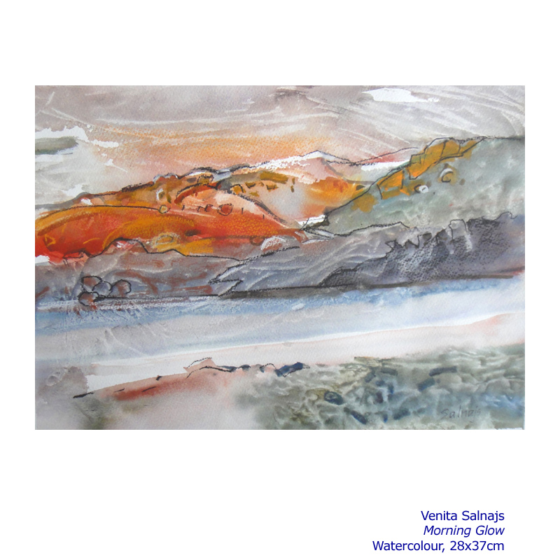 Winter Solace 13 July - 24 August 2014. Gallery and Associated artists including: Venita Salnajs and more