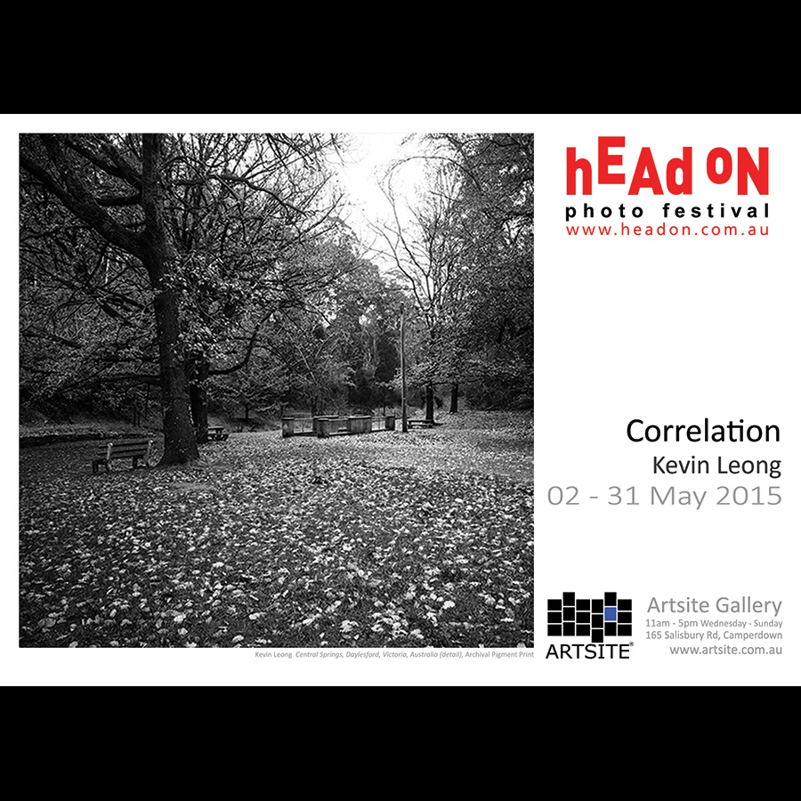 Correlation: Kevin Leong - Head On Photo Festival 2015 Artsite Gallery 02 -31 May 2015