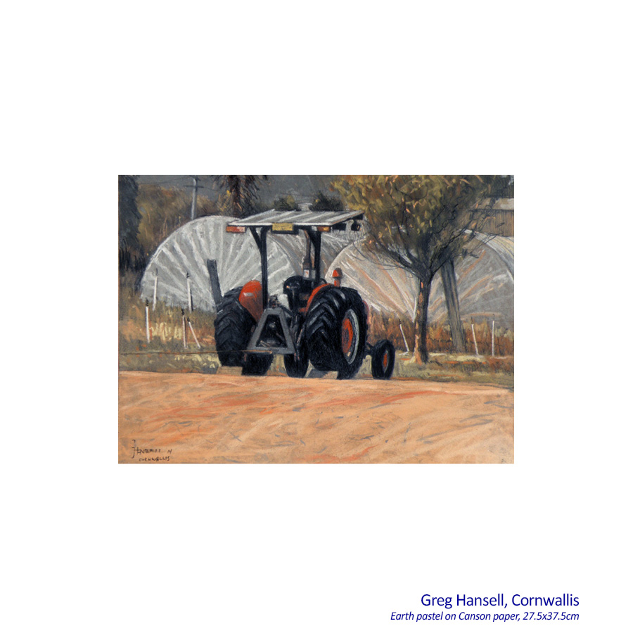 Greg Hansell - Earth Pastels - Artsite Gallery, Sydney, 06 - 28 June 2015