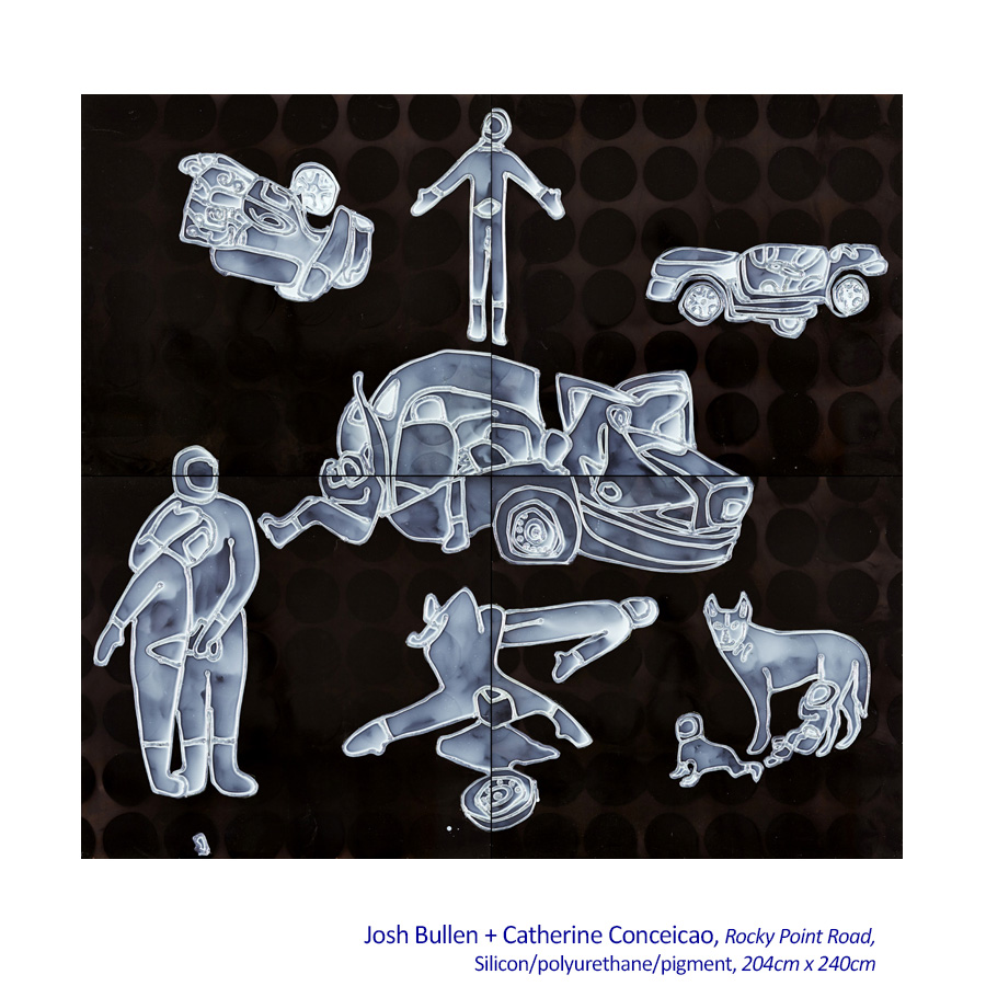 Silicon Artists: Josh Bullen + Catherine Conceicao - Artsite Gallery, Sydney, 06 - 28 June 2015