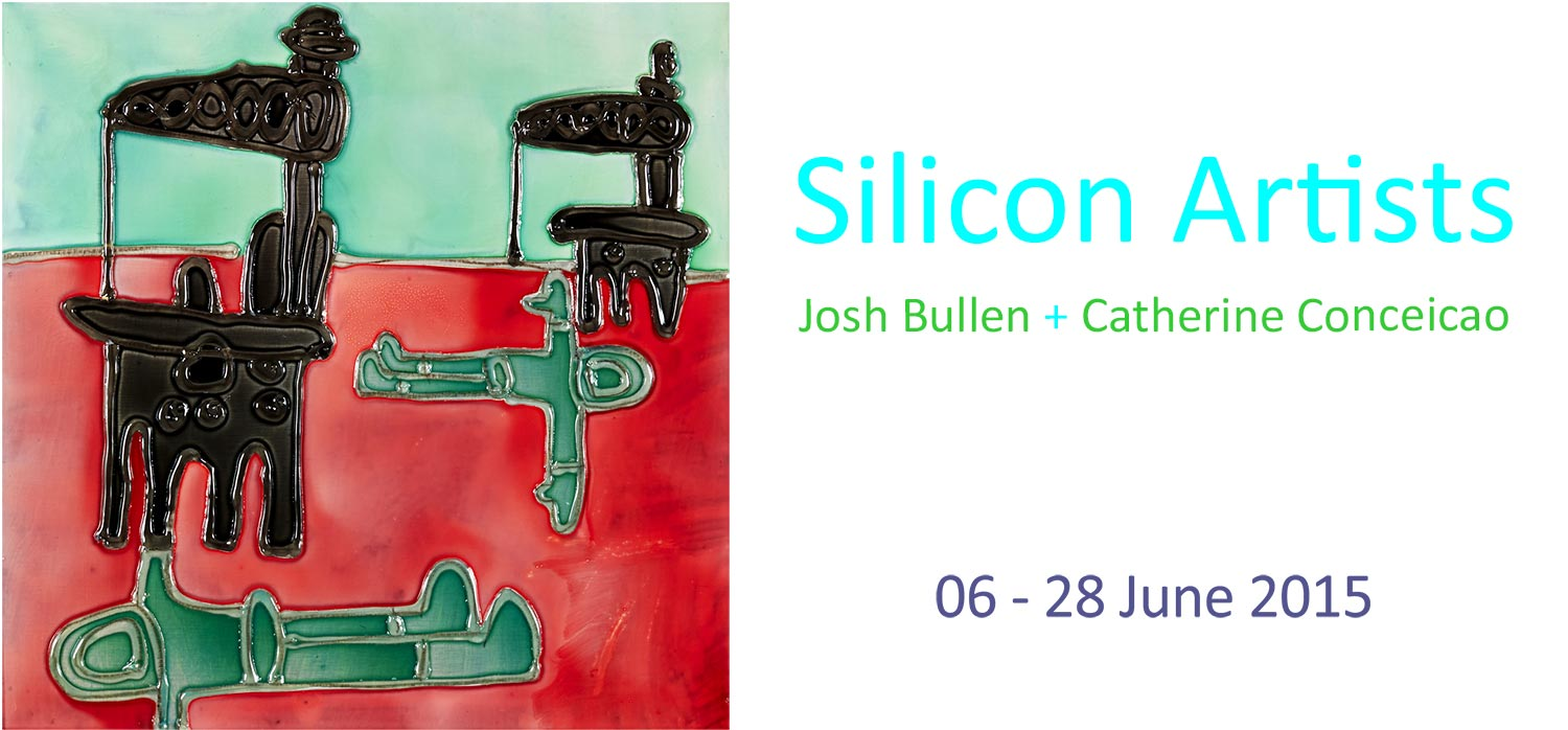 View Exhibition at Artsite Gallery. 06 - 28 June 2015: The Silicon Artists: Josh Bullen + Catherine Conceicao