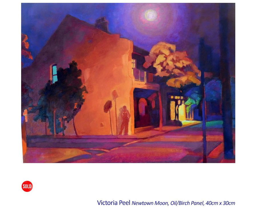 Landscapes and Interiors with Figures: with Victoria Peel. Curator: Max Taylor AM. Artsite Gallery 04 - 26 July 2015.