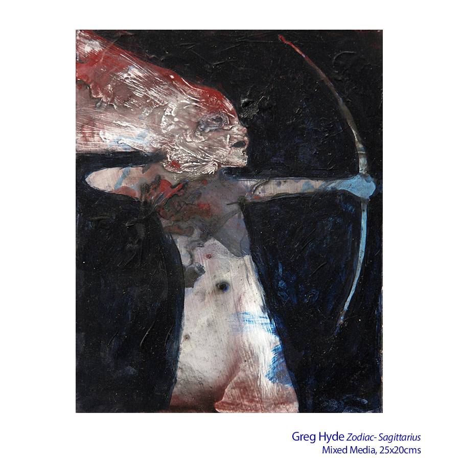Greg Hyde - Mythteries - Solo Exhibition. Artsite Gallery 03 - 25 October 2015