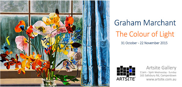 View Exhibition at Artsite Gallery, Sydney: Graham Marchant - The Colour of Light. 31 October - 22 November 2015