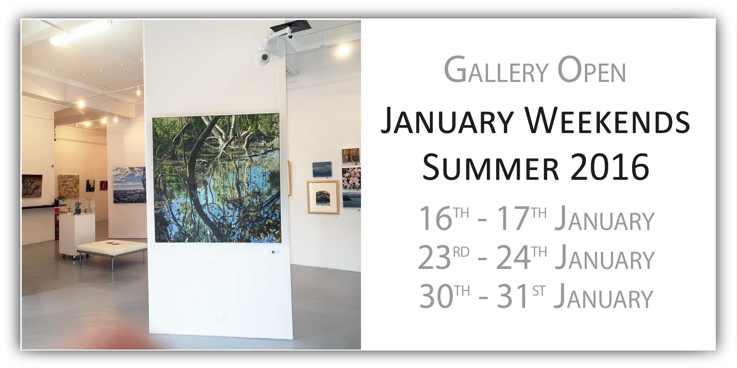 View Exhibition at Artsite Gallery. 16 - 31 January 2016: Group Exhibition - Summer Weekends.