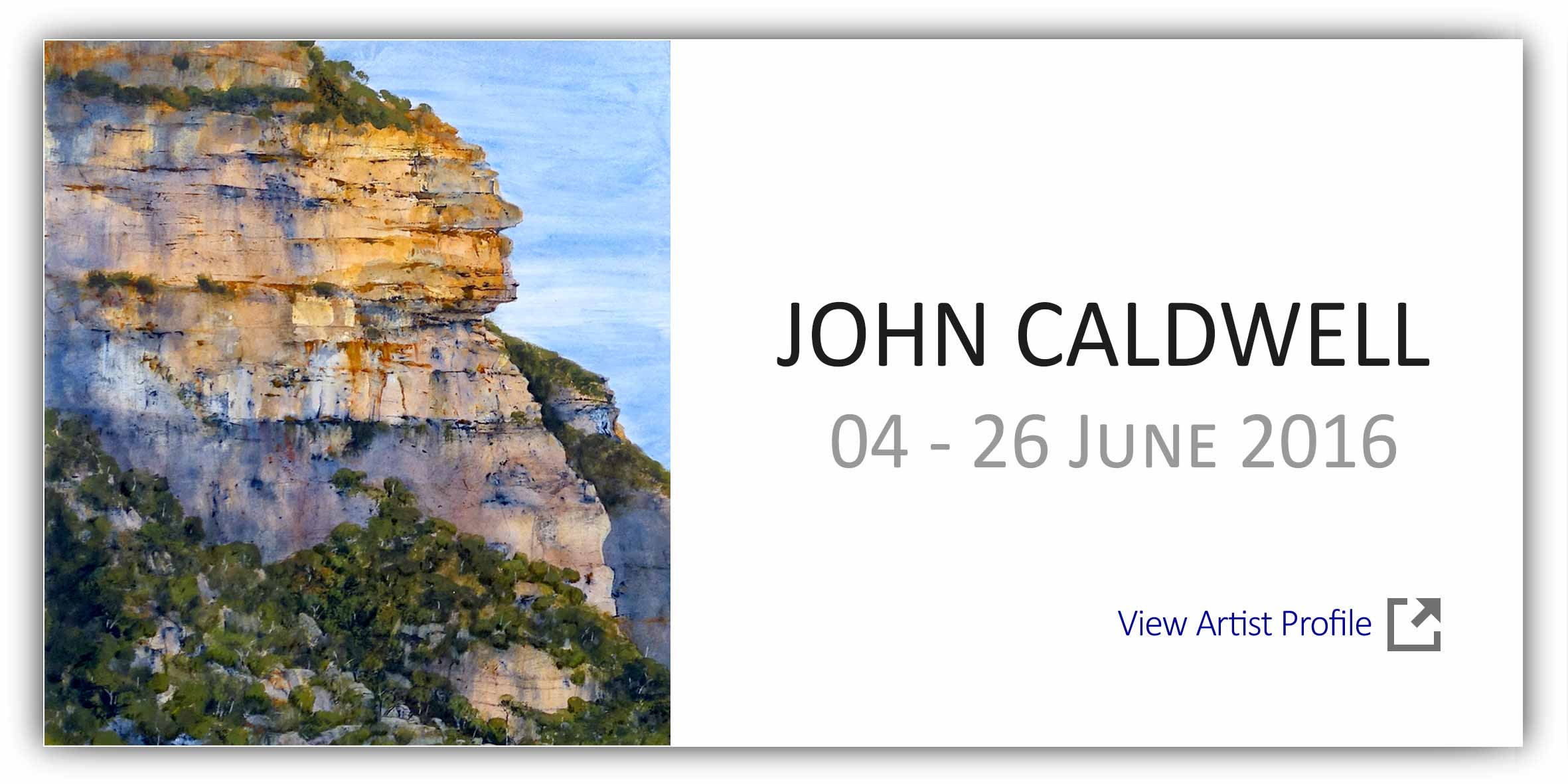 View Exhibition at Artsite Gallery. 04 - 26 June 2016: John Caldwell - Caldwell Country Unframed.