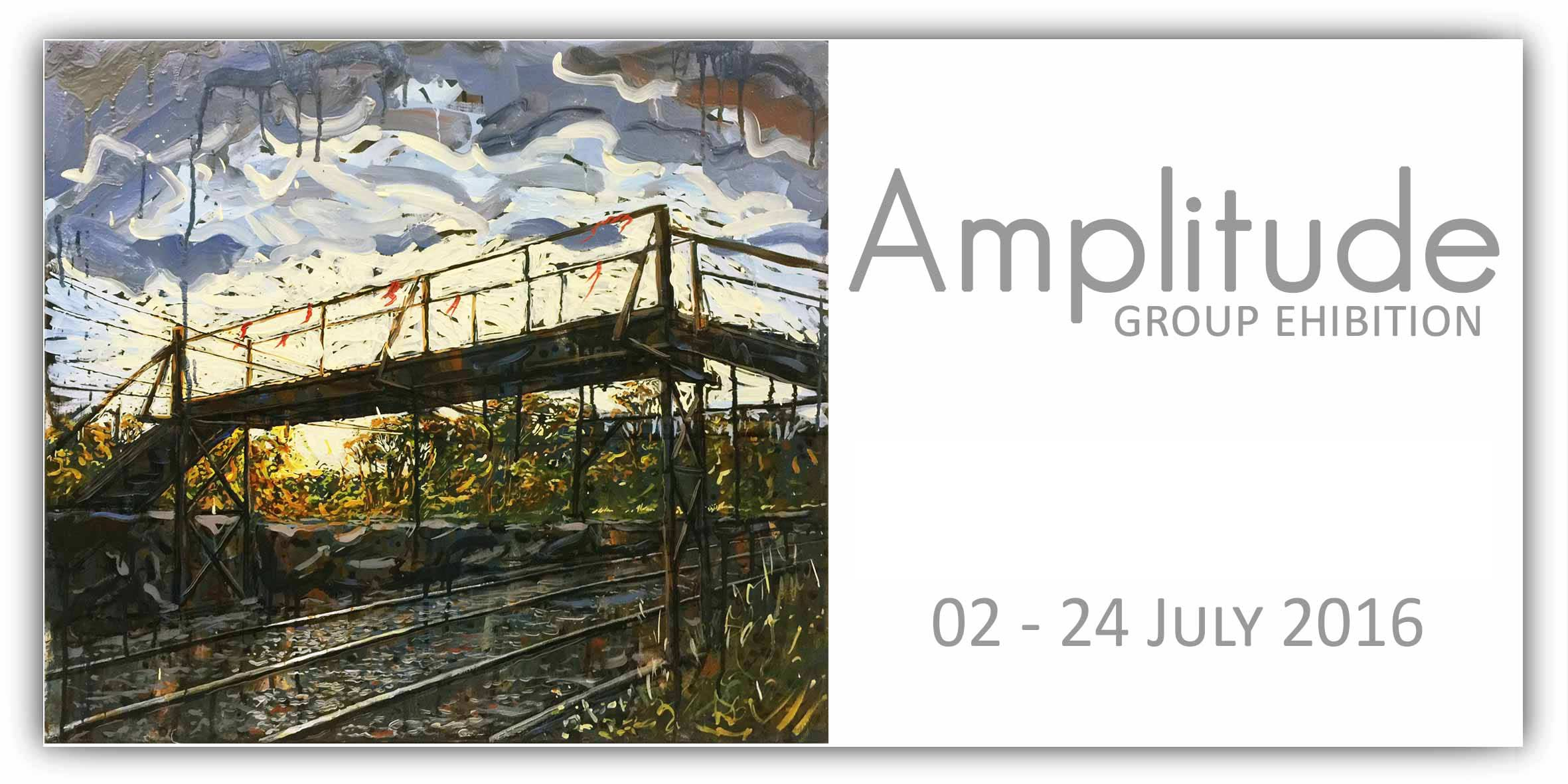 "Artsite Gallery Exhibition: ""Amplitude"" - Group Exhibition. Artsite Gallery Open Saturday and Sunday 11am - 5pm for the Weekends in July: 04 - 24 July 2016 - All Welcome"