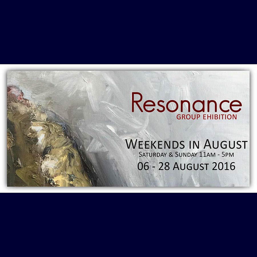 Resonance: Group Exhibition. Artsite Gallery  06 - 28 August 2016.