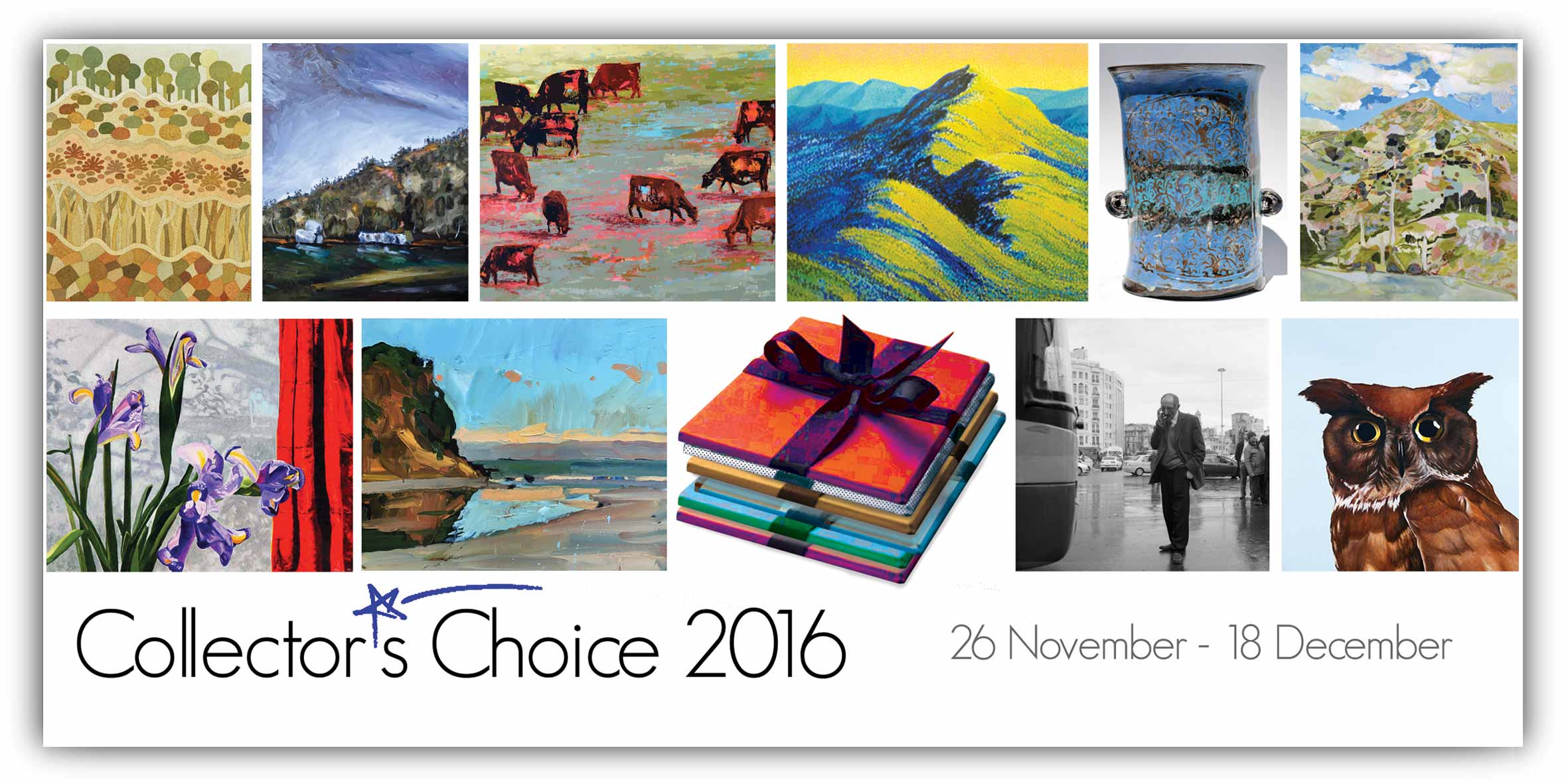 View Exhibition at Artsite Gallery, Sydney: 26 November - 18 December 2016. Collector´s Choice 2016