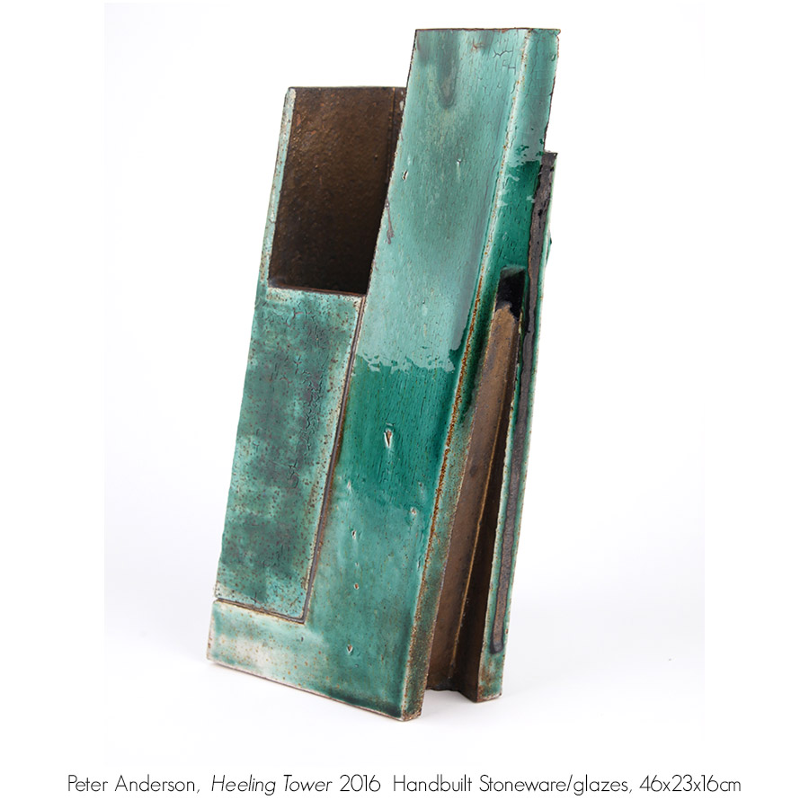 Sculpture and 3D Work available from Artsite Gallery Stockroom: Peter Anderson.