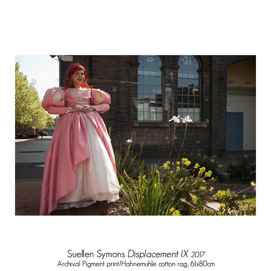 Suellen Symons: Displacement. Solo Exhibition, Artsite Gallery 06 - 28 May 2017. Head On Photo Festival 2017 Associated Exhibition.