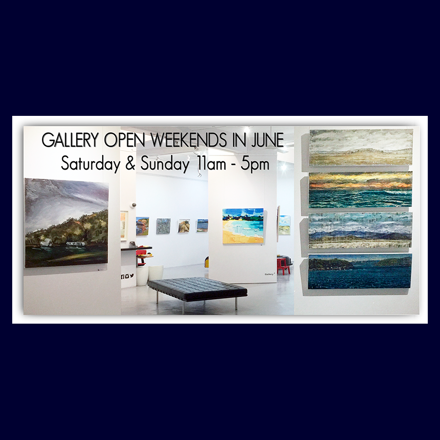 In June Enjoy: Group Exhibition. Artsite Gallery Weekends in June 2017 Open Saturday and Sunday 11am - 5pm.