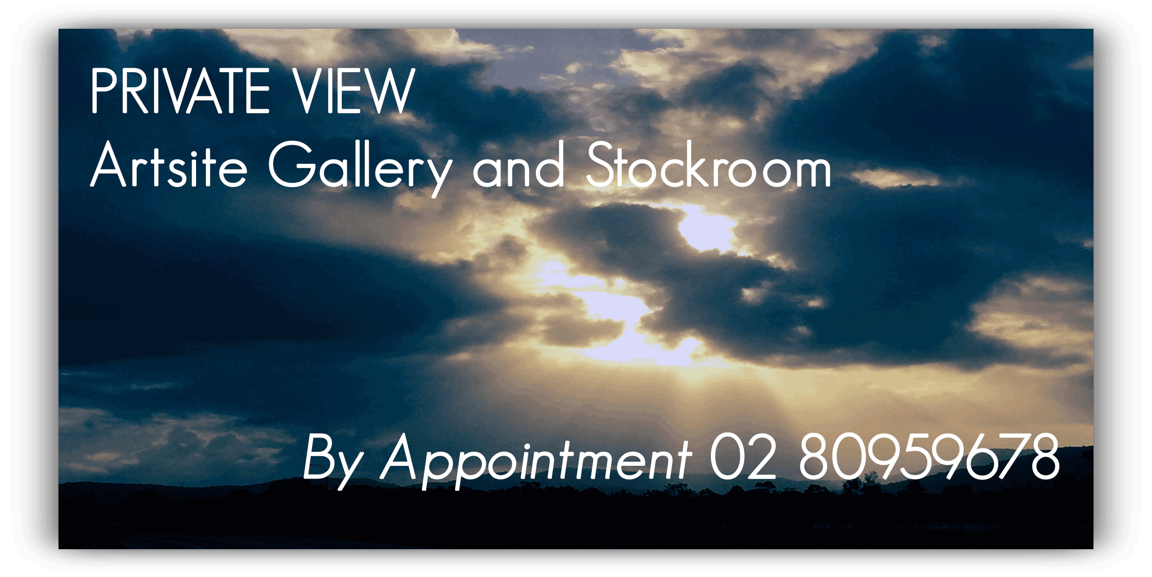 View Stockroom at Artsite Gallery.