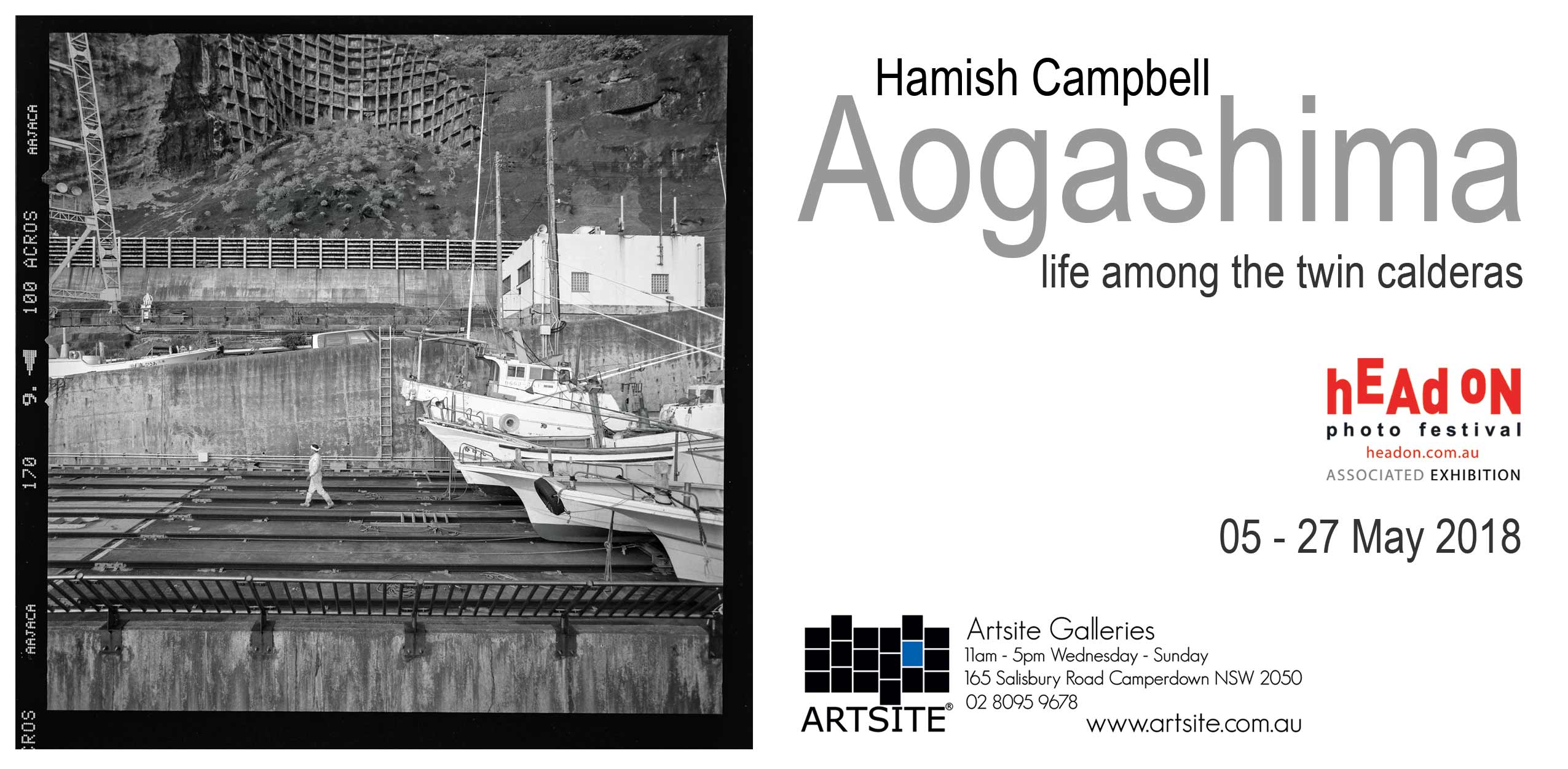 Hamish Campbell's Solo Exhibition at Artsite Galleries, Sydney May 2018