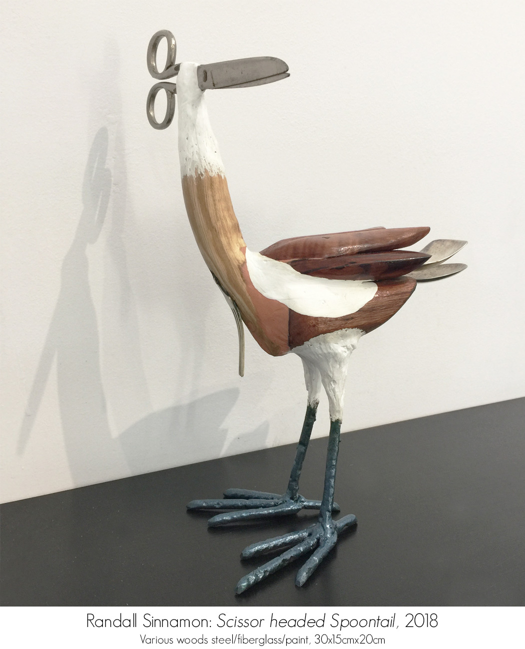 Sculpture and 3D Work available from Artsite Gallery Stockroom: Randall Sinnamon.