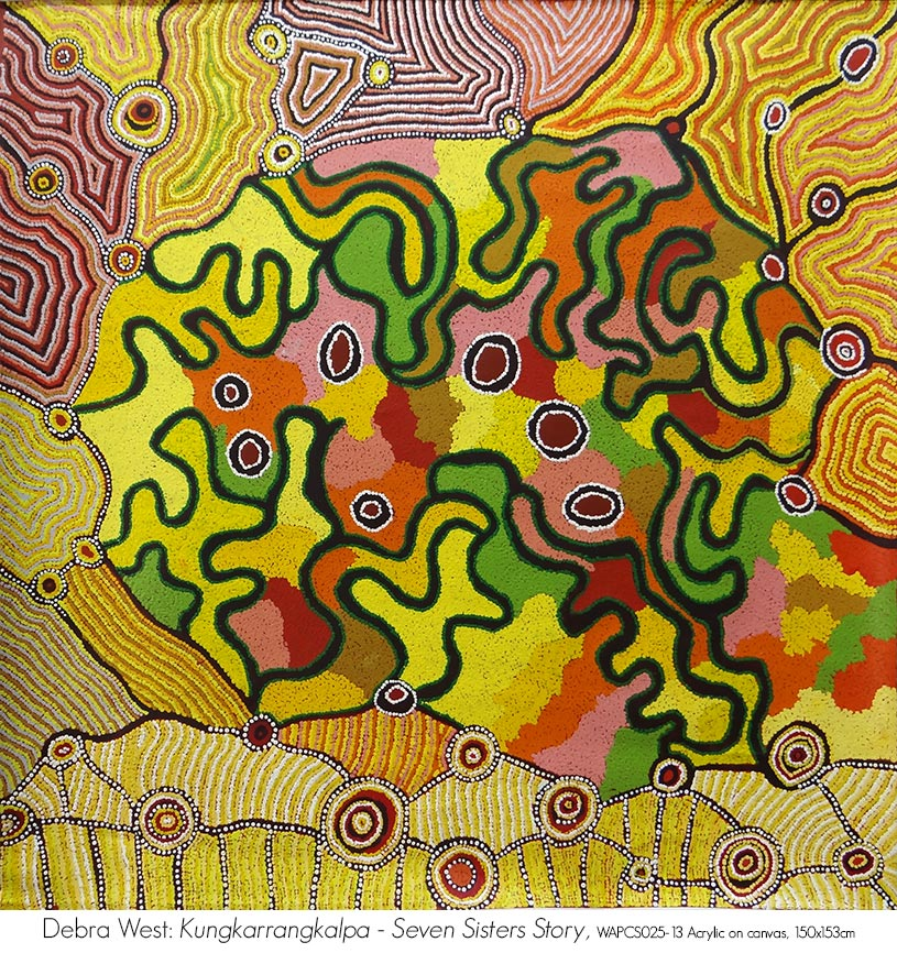 Original Art for sale $10000 and under available from Artsite Gallery Stockroom: Debra West - Warburton Arts Project.