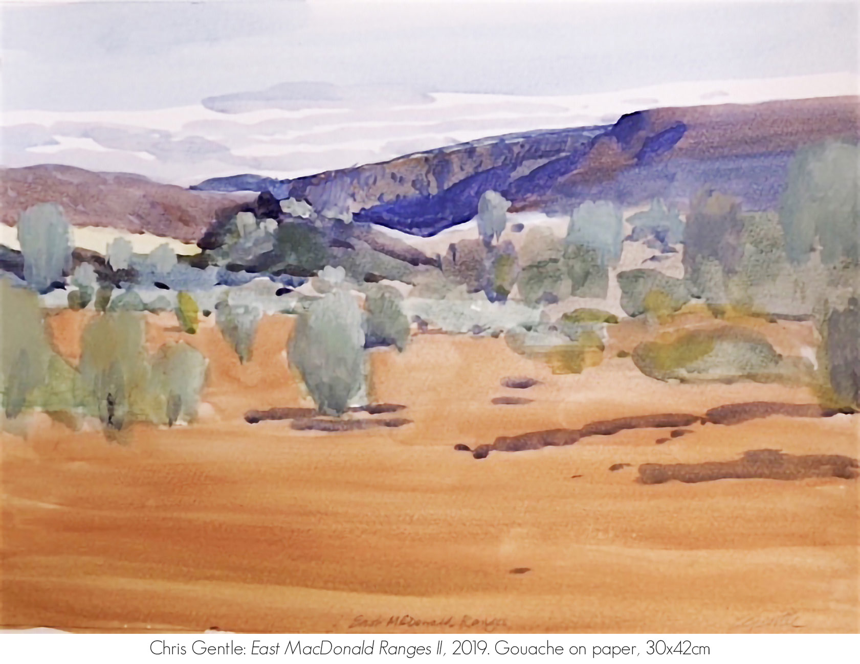 Artsite Galleries Exhibition | REFLECTIONS OF AN ANCIENT LAND: The MacDonnell Ranges | Chris Gentle. Exhibition is Open June - July 2020. Saturdays and Sundays 11am - 5pm and By Appointment Monday - Friday.