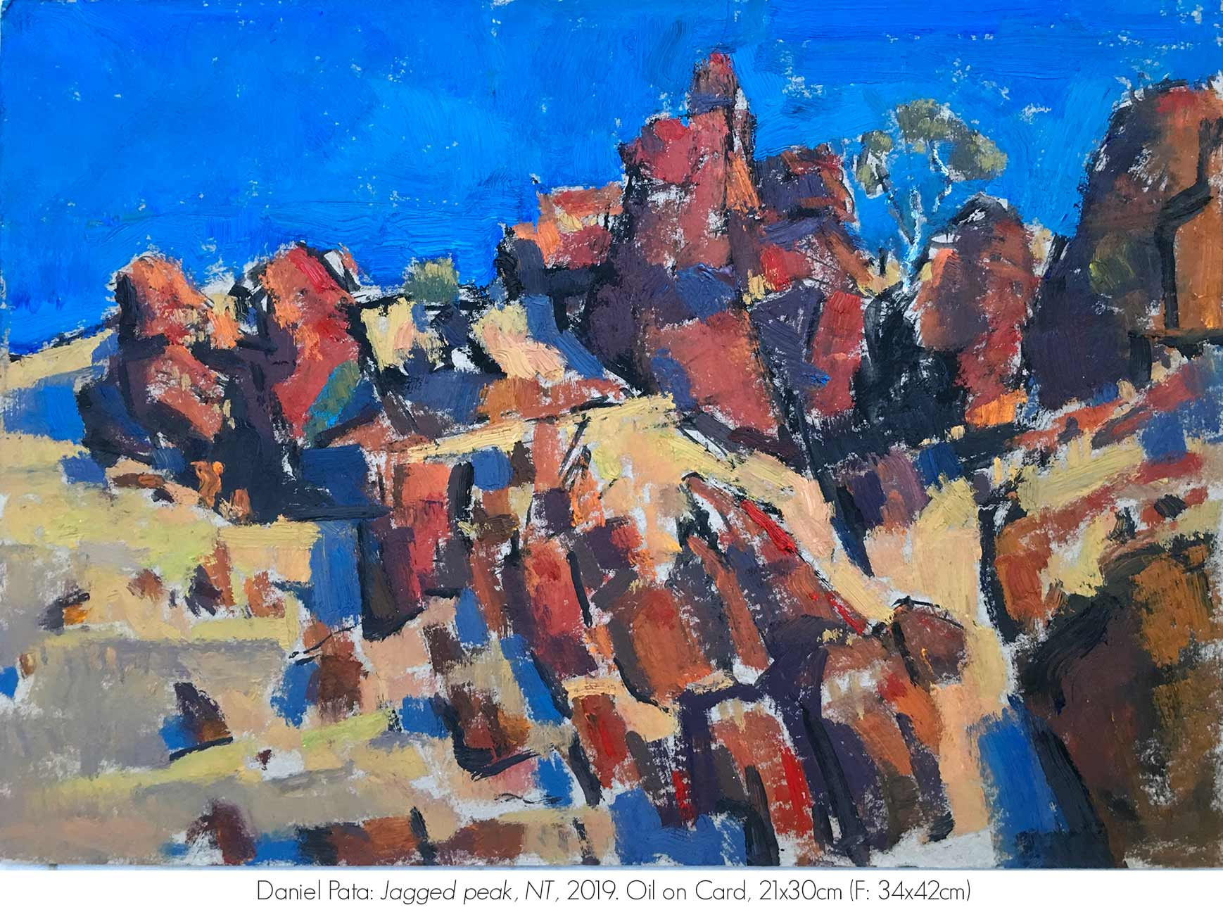 Artsite Galleries Exhibition | REFLECTIONS OF AN ANCIENT LAND: The MacDonnell Ranges | Daniel Pata. Exhibition is Open June - July 2020. Saturdays and Sundays 11am - 5pm and By Appointment Monday - Friday.