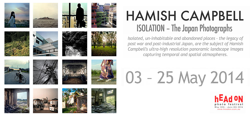 View Exhibition at Artsite Gallery. 03 - 25 May 2014: Hamish Campbell - Isolation - The Japan Photographs - Head On Photo Festival 2014