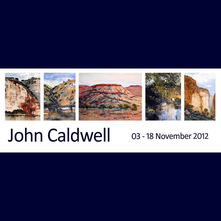 John Caldwell - New Paintings. Artsite Gallery 03 - 18 November 2012.