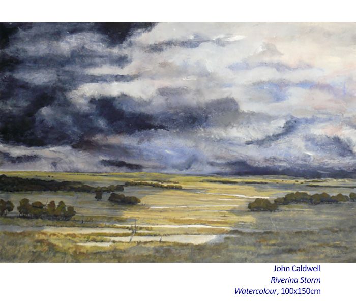 John Caldwell - Recent Watercolours - Artsite Gallery 31 May - 29 June 2014.
