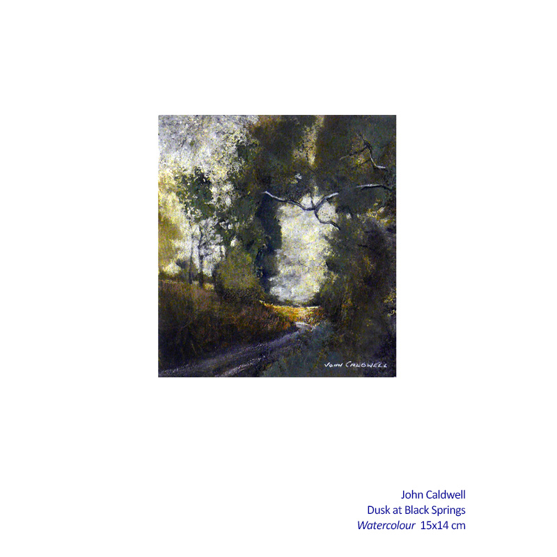 Winter Solace 13 July - 24 August 2014. Gallery and Associated artists including: John Caldwell and more