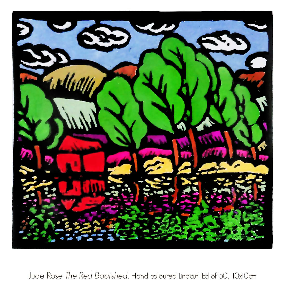 Jude Rose - Represented by Artsite Galleries, Sydney, Australia.