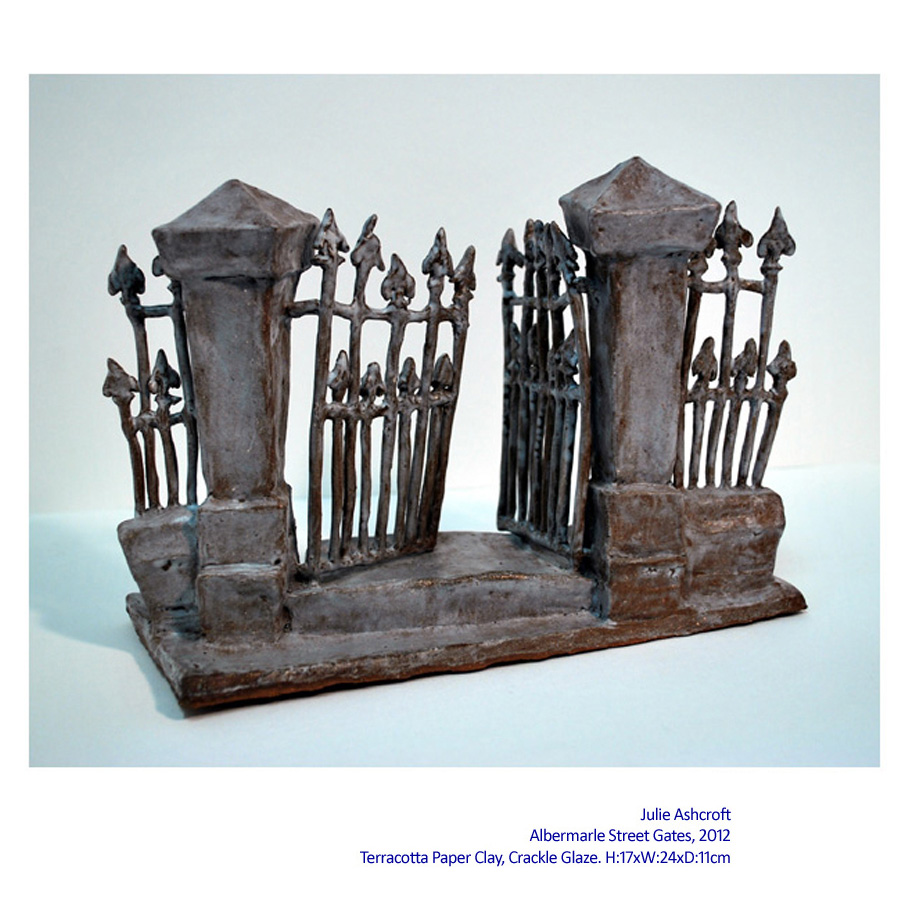 Julie Ashcroft Sculpture - Urban Aspects: Newtown. Artsite Gallery 13-28 October 2012.