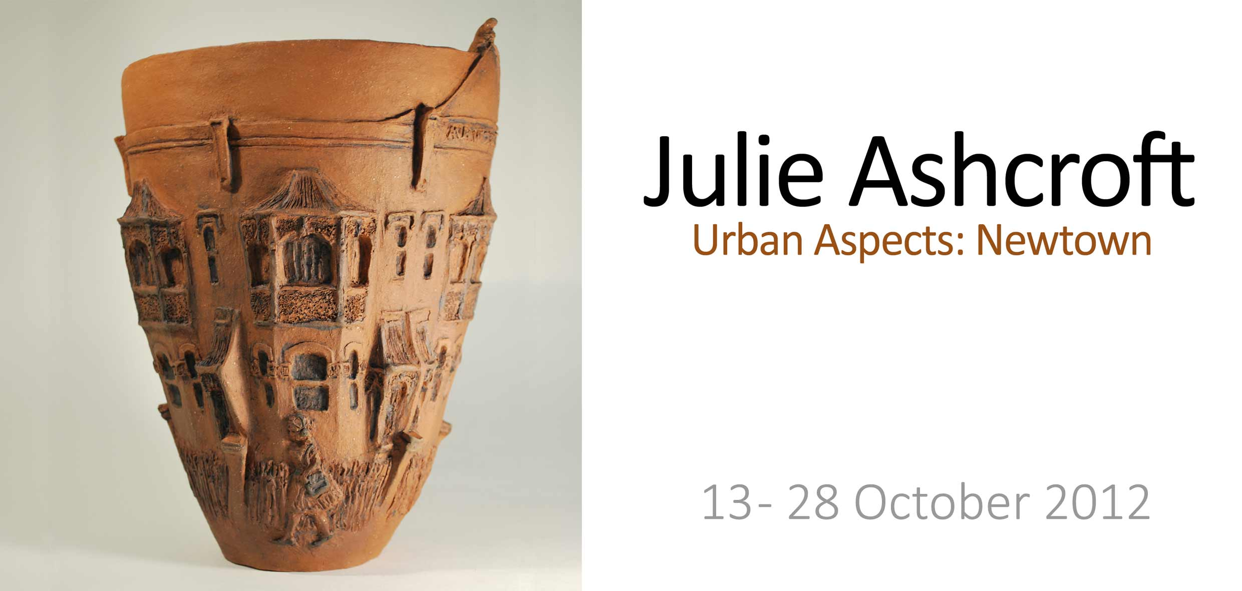 View Exhibition at Artsite Gallery, Sydney: 13 - 28 October 2012: Urban Aspects: Newtown - Julie Ashcroft