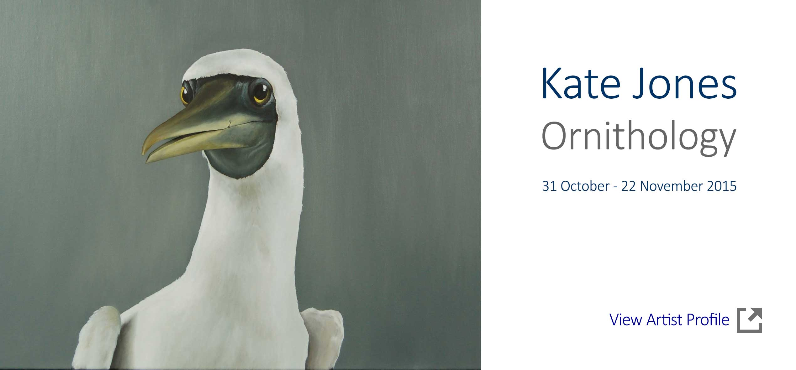 Artsite Gallery Exhibition  - Kate Jones - Ornithology - Solo Exhibition. Artsite Gallery 31 October - 22 November2015 - join the artist at the opening on Sunday 1ts November 3-5pm - All Welcome