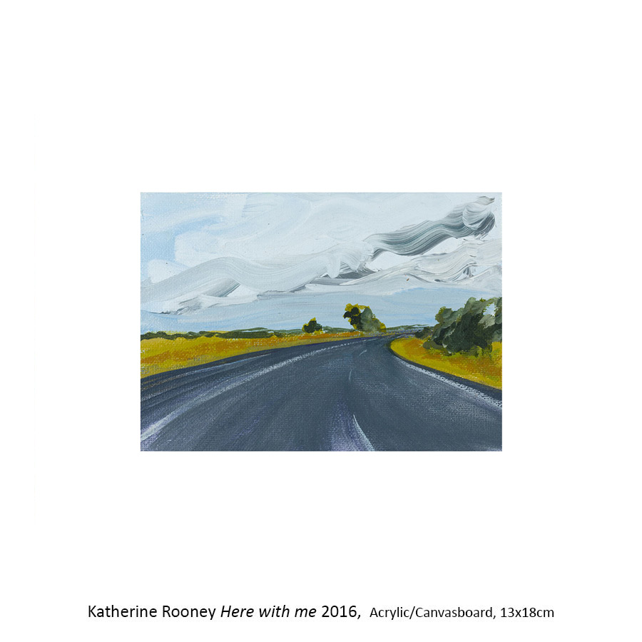 Katherine Rooney: Travelling the Federal Highway. Artsite Gallery, Sydney 02 - 24 April 2016.