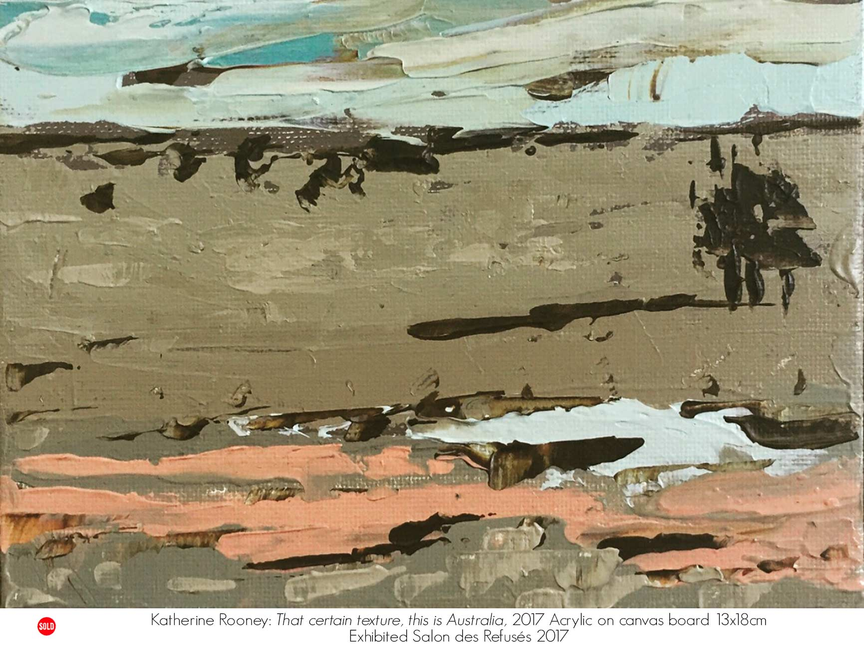 Katherine Rooney | Artsite Galleries | Sydney | Australia.