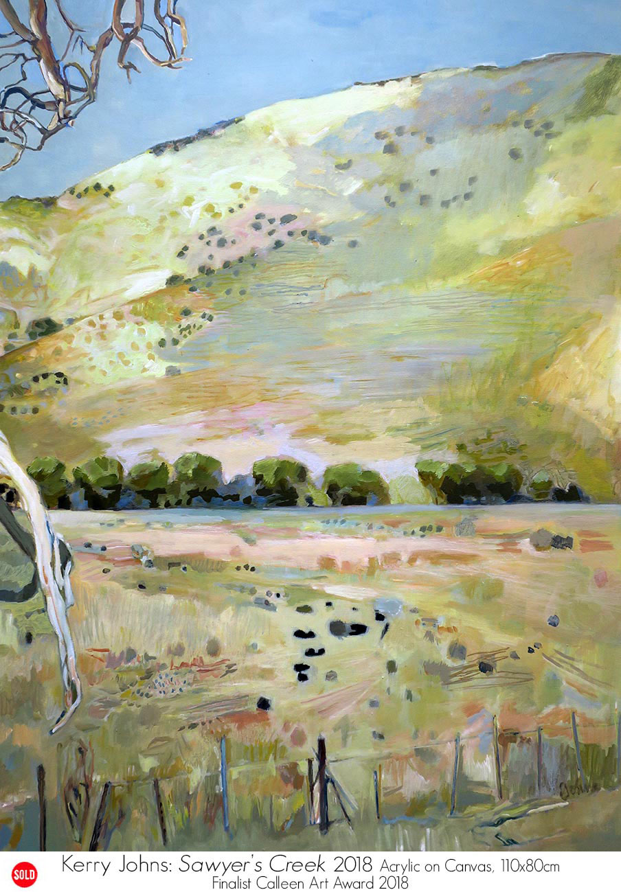 Kerry Johns represented by Artsite Galleries, Sydney