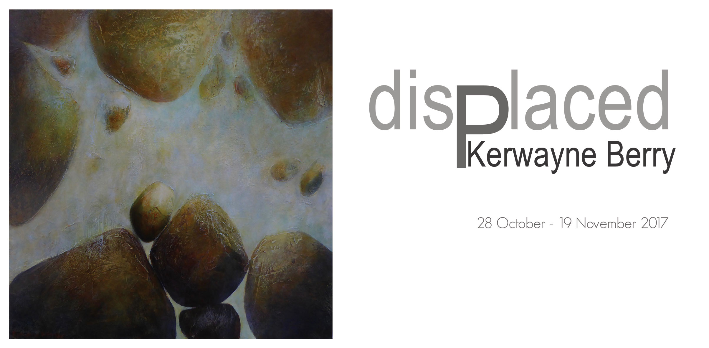 New Exhibition at Artsite Gallery, Sydney. disPlaced: Kerwayne Berry, 28 October - 19th November 2017.