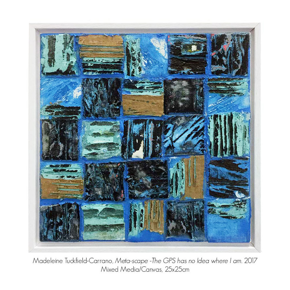 eklektikos: Gallery_2 Group Exhibition with Madeleine Tuckfield-Carrano, Artsite Gallery 04 - 26 February 2017.