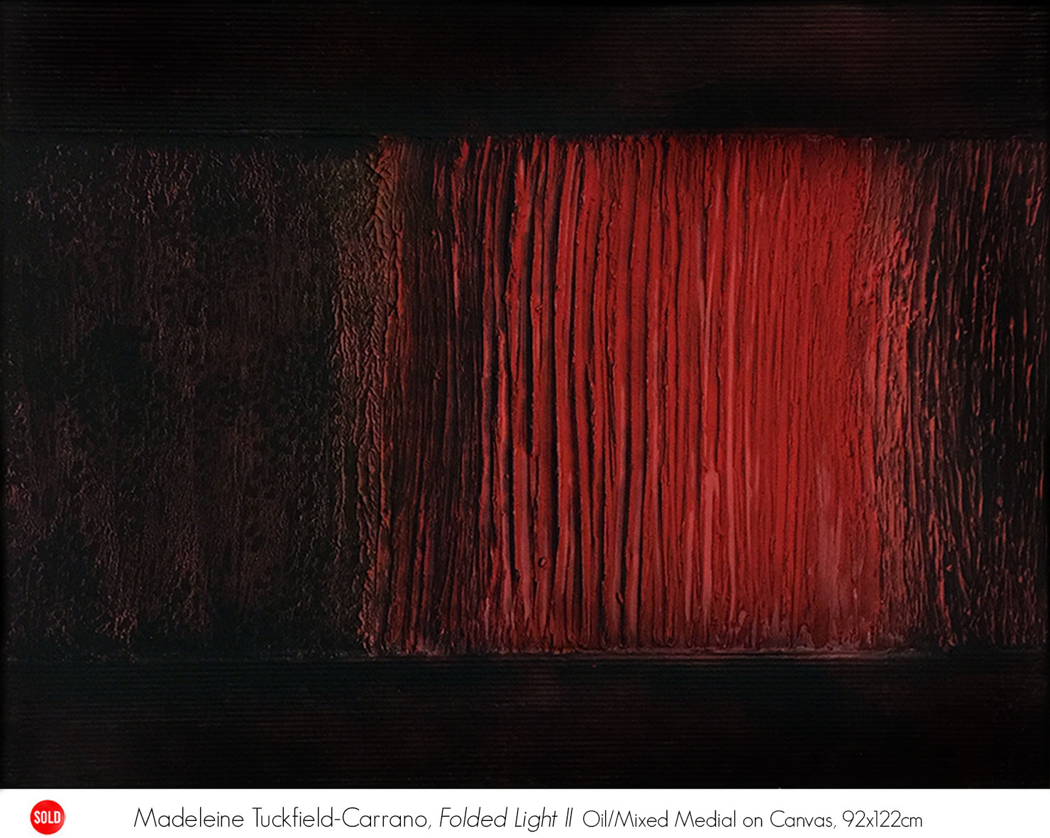 Madeleine Tuckfield-Carrano: Solo Exhibition Gallery One, Artsite Galleries, 02 -24 September 2017