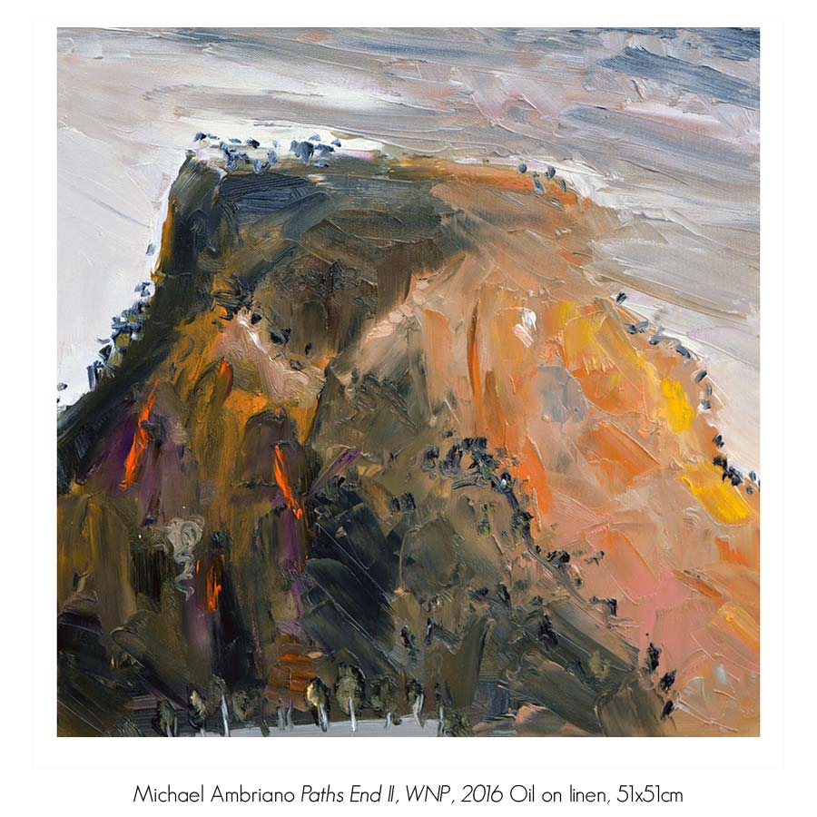 Michael Ambriano Solo Exhibition, Artsite Gallery 01 - 23 October 2016.