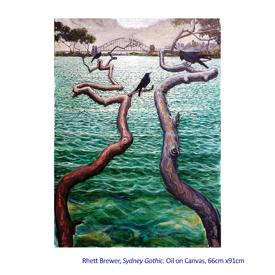 Solo Exhibition - Rhett Brewer - Paintings 07 February - 01 March 2015.