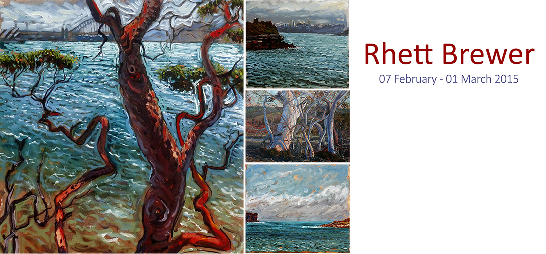 View Exhibition at Artsite Gallery, 07 February - 01 March 2015: Rhett Brewer - Solo Exhibition