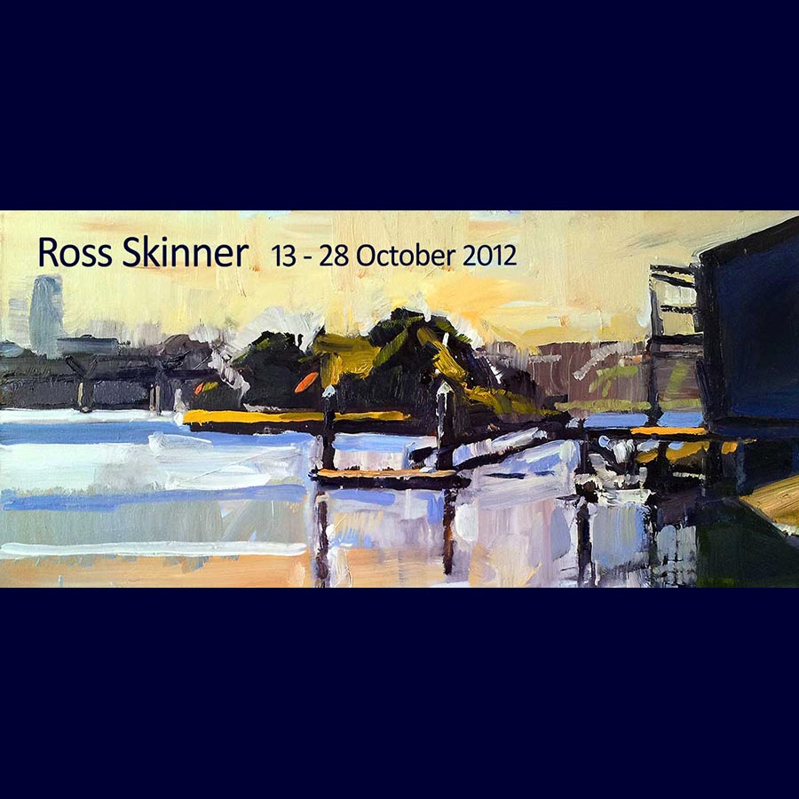 Ross Skinner - Recent Paintings. Artsite Gallery 13 - 28 October 2012.