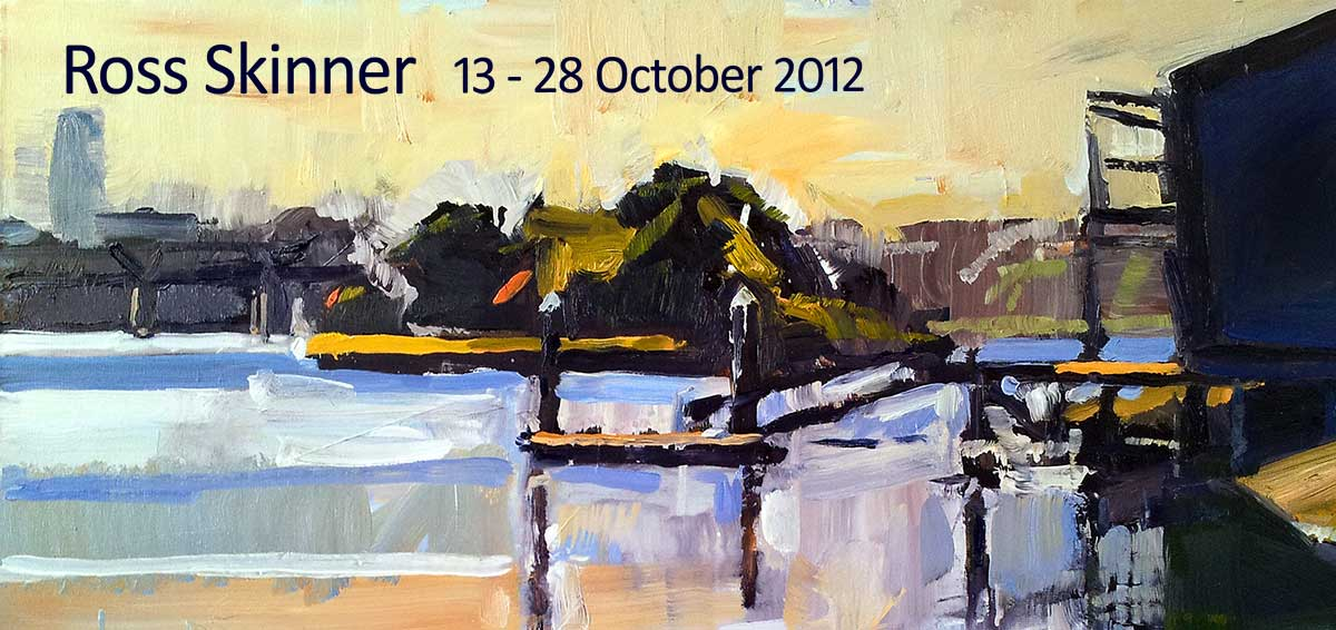View Exhibition at Artsite Gallery, Sydney: 13 - 28 October 2012 Ross Skinner - New Paintings
