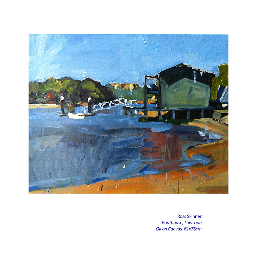 Ross Skinner - New Paintings. Artsite Gallery 04 - 26 October 2014.
