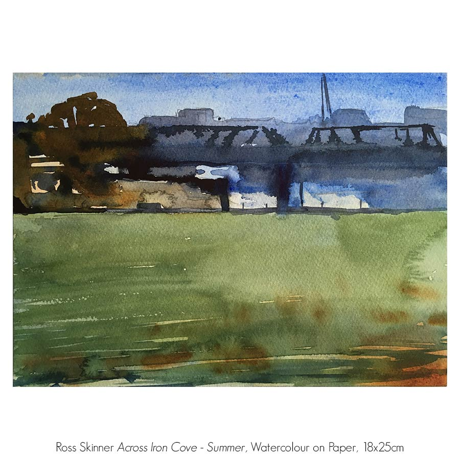 Ross Skinner, In a Marine Light,  Solo Exhibition, Artsite Gallery 01 - 23 October 2016.