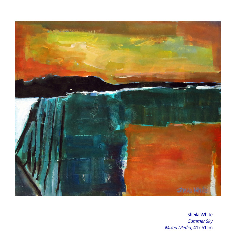 Winter Solace 13 July - 24 August 2014. Gallery and Associated artists including: Sheila White and more