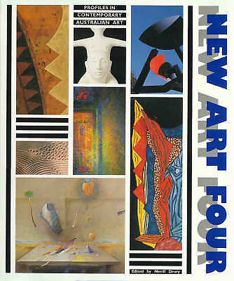 New art four : profiles in contemporary Australian art, edited by Nevill Drury,  Craftsmen House, 1990)