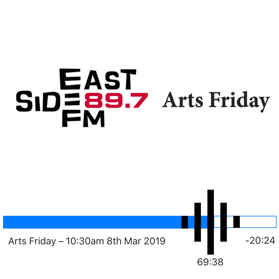 Claudia Chan Shaw interview with Mo Orkiszewski   Arts Friday - 89.7 Eastside FM   International Women´s Day   March 8 2019