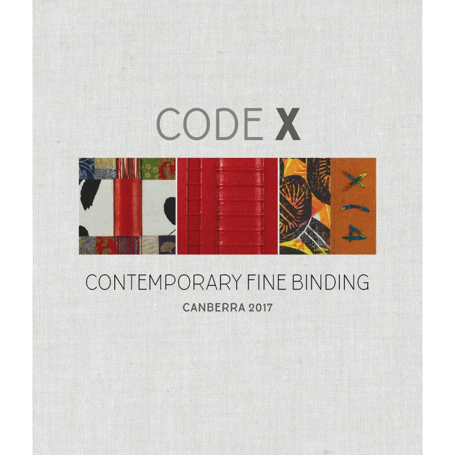 Mo Orkiszewski   Invited Exhibitor   CODE X: Contemporary Fine Binding   Curated by Terence Uren   Canberra.